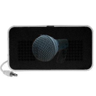 Microphone close up mic cutout design iPhone speakers