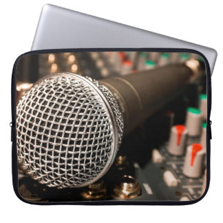 Microphone Computer Sleeve