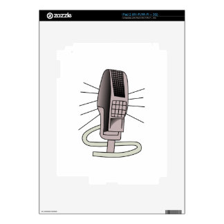 Microphone Decals For iPad 2