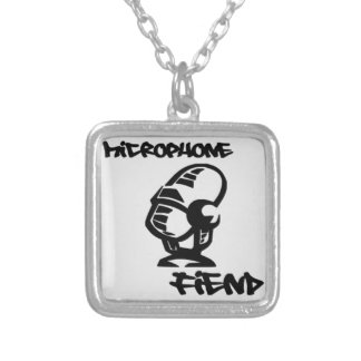 Microphone Fiend - Necklace