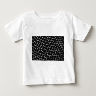 Microphone Grid Background Baby T-Shirt