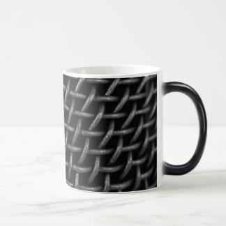 Microphone Grid Background Magic Mug
