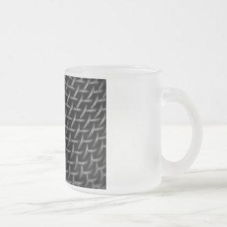 Microphone Grid Background Coffee Mug