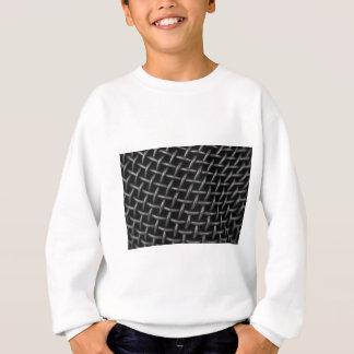 Microphone Grid Background Sweatshirt