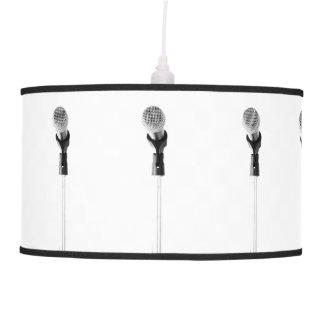 Microphone Hanging Lamp