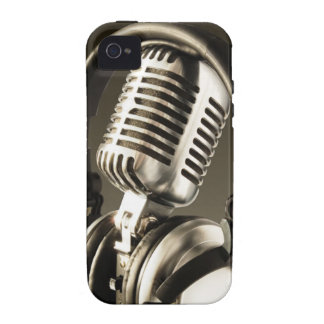 Microphone & Headphone Case Cover Case-Mate iPhone 4 Cover