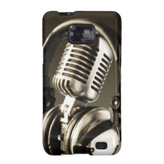 Microphone & Headphone Case Cover Samsung Galaxy SII Case