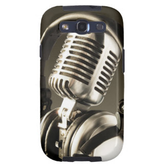 Microphone & Headphone Case Cover Samsung Galaxy S3 Case