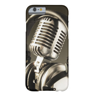 Microphone & Headphone Case Cover Barely There iPhone 6 Case