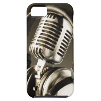 Microphone Headphone Case Cover iPhone 5 Case