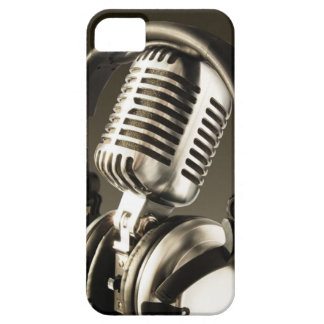 Microphone & Headphone Case Cover iPhone 5 Covers
