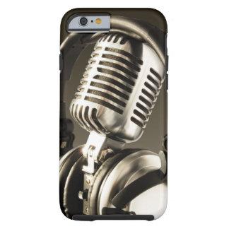 Microphone & Headphone Case Cover Tough iPhone 6 Case