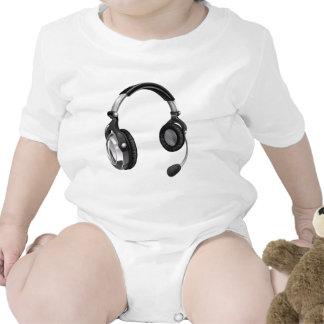 Microphone headset bodysuit