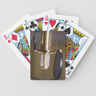 Microphone in Studio Bicycle Playing Cards
