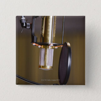 Microphone in Studio Button