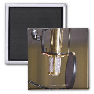Microphone in Studio Magnet