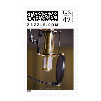 Microphone in Studio Postage