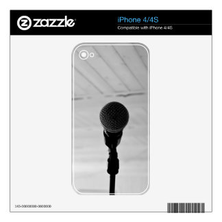 Microphone iPhone 4/4s skin Skins For The iPhone 4