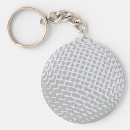 Microphone Keychain