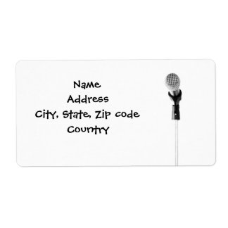 Microphone Label