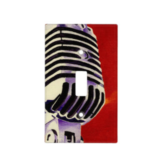 Microphone Light Switch Cover