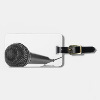 Microphone Tag For Bags