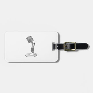 MICROPHONE LUGGAGE TAGS