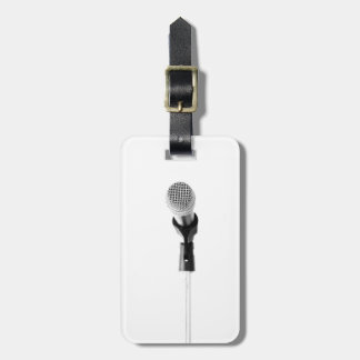 Microphone Tags For Bags
