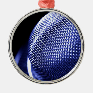 Microphone Metal Ornament