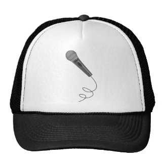 Microphone Mike Audio Sound Music Trucker Hats