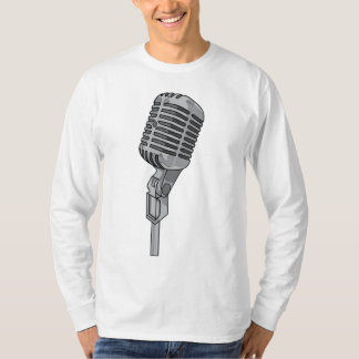 Microphone Mike ~ Audio Sound Music T-Shirt