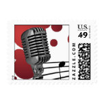 Microphone Music Postage