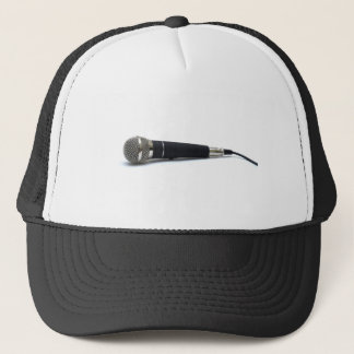 Microphone, Music theme Trucker Hat