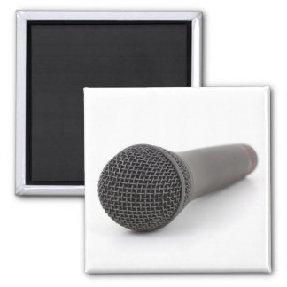 Microphone Photo Refrigerator Magnets