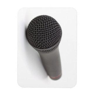 Microphone Photo Vinyl Magnet