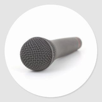 Microphone Photo Stickers