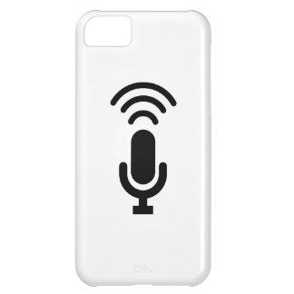 Microphone Pictogram iPhone 5C Case