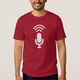Microphone Pictogram T-Shirt