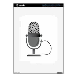 Microphone iPad 3 Skin
