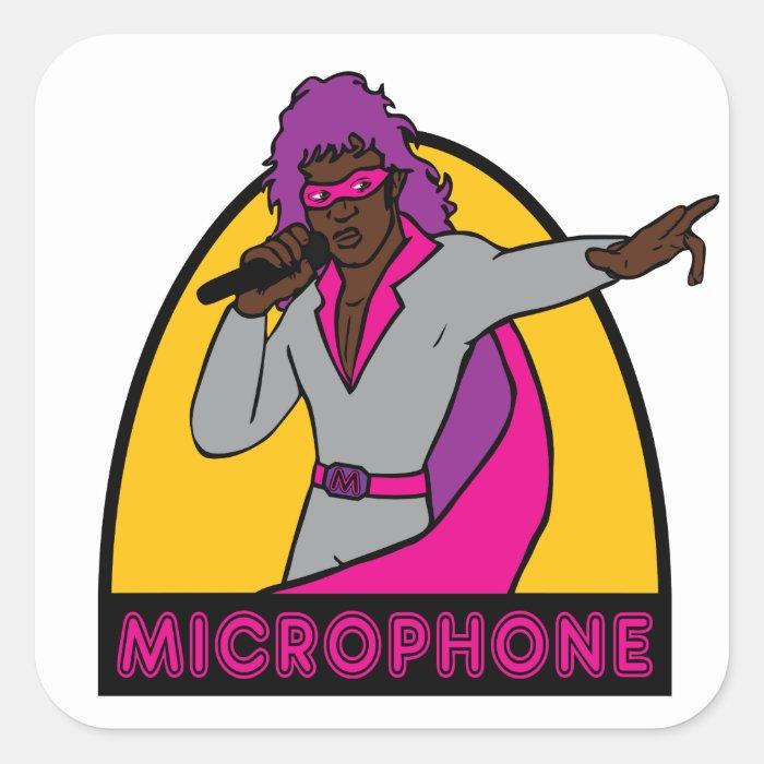 Microphone - Sticker