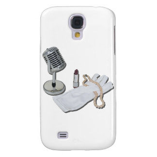MicrophoneWhiteGlovesPearlsLipstick082611 Samsung Galaxy S4 Case