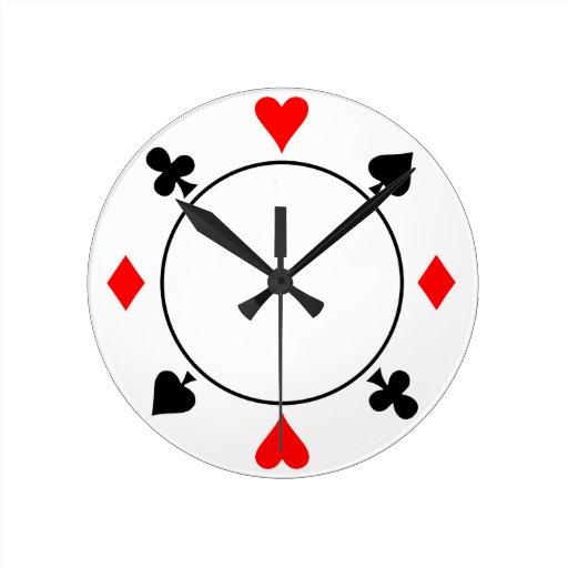 Microprocesador del casino reloj