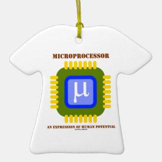 Microprocesador una expresión del potencial humano ornamentos de reyes magos
