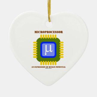 Microprocesador una expresión del potencial humano ornato