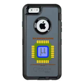 Microprocesador una expresión del potencial humano funda OtterBox defender para iPhone 6
