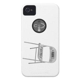 Microprocesador y una silla iPhone 4 carcasas