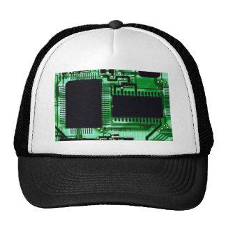 Microprocesadores de la sombra gorros