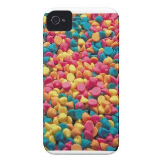 Microprocesadores del caramelo - caja intrépida de iPhone 4 Case-Mate carcasa