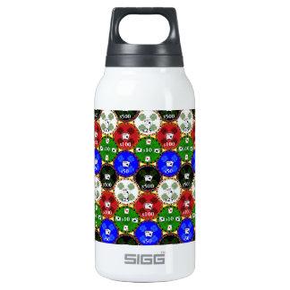 Microprocesadores del casino botella isotérmica de agua
