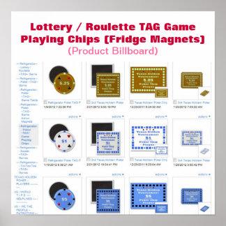 Microprocesadores del juego del juego de la ETIQUE Póster